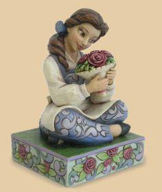 Disney JIM Shore Beauty THE Beast Beautiful Belle Figurine 4023532 | eBay