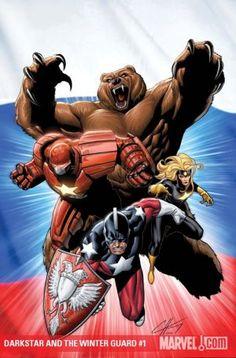 Darkstar and the Winter Guard (of - Marvel Comics Marvel Comics, Marvel E Dc, Marvel Villains, Marvel Comic Universe, Marvel Heroes, Crimson Dynamo, Arte Nerd, Star Trek, Punisher