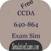 Free CCDA 640-864 practice tests from Simulationexams.com in android app is available at https://play.google.com/store/apps/details?id=com.anandsoft.ccdaexamsim