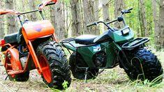 motorbikes or enduro? Mini Motorbike, Scrambler Motorcycle, Mini Bike, Motorcycle Helmets, Off Road Bikes, Dirt Bikes, Fat Bike, Big Wheel, Bike Trails