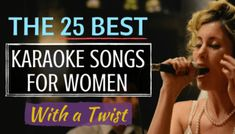 The 25 Best Karaoke Songs for Women Want to be the star of your next karaoke night? We've got you covered. In this article, voice teacher Elaina R. shares 25 recommendations of karaoke songs for women. Have you ever noticed tha… Best Karaoke Songs, Karaoke Party, Songs To Sing, Best Songs, Alto Songs, Lip Sync Songs, Professional Karaoke System, Best Karaoke Machine, Female Songs