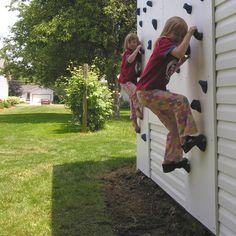Little climbing wall