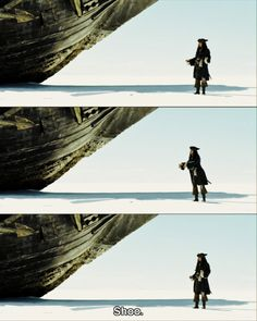 Pirates of the Caribbean: At World's End Jack Sparrow is the best drunk there could be.... I soooo agree