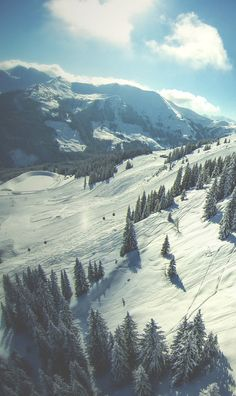 snow, nature, and mountains kép