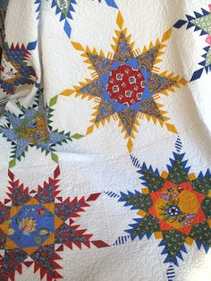 Perennial Stars by American Jane Pattern available at Hollyhill Quilt Shoppe & Mercantile while they last.  www.hollyhillquiltshoppe.com