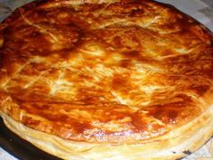 FEUILLETE JAMBON ET FROMAGE, photo 1 Cordon Bleu, Bruschetta, Entrees, Menu, Pie, Cheese, Cooking, Ethnic Recipes, Desserts