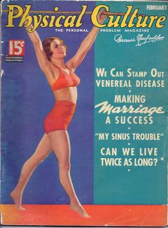 Physical Culture Magazine 1936.