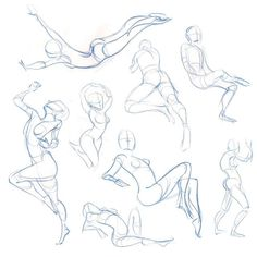 One of my favorite parts of figure drawing is quick little gesture sketches that capture the movement of the body. #figuredrawing #gesture
