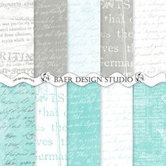 Beautiful and subtle digital backgrounds to use for paper crafting projects.  300 dpi, jpgs, instant downloads, 12 x 12 inch scrapbook paper and 8.5 x 11 inch digital papers. Once downloaded on your device, these papers can be used over and over again for years. Follow the visit button for all details.