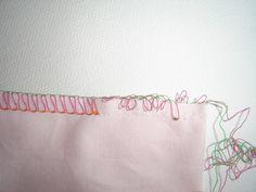 Comment défaire une couture à la surjeteuse