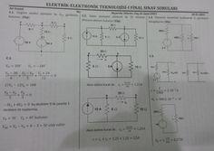 Elektrik Elektronik Teknolojisi -1 Final Soruları ve Cevapları