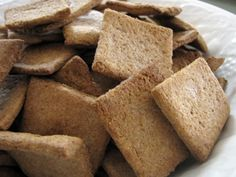 homemade sprouted spelt crackers. I love the nutty taste of sprouted spelt flour