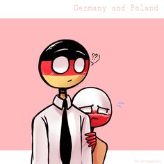 Read Alemania x Poland from the story Imágenes de Countryhumans by Rusia_Crazy (I'm fine) with reads. Germany Poland, Pusheen Cat, Country Art, Human Art, Photo Book, Cool Art, Funny Pictures, Memes, Deviantart
