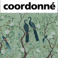 COORDONNE SPAIN CHINOISERIE GARDEN Chinoiserie, Moose Art, Spain, House Design, Garden, Fabrics, Pattern, Painting, Decor