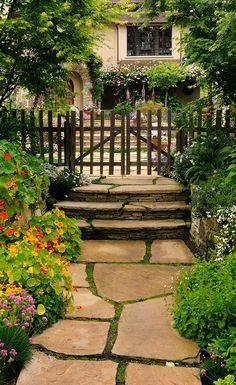 Caminhando Pelo Jardim!                                                                                                                                                                                 Mais