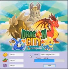 Dragon City Cheats Gems Gold and Food Generator Hack Tool City Sim, Dragon City Cheats, City Generator, Android Mobile Games, Cheat Engine, Private Server, Gold Dragon, Game Resources, Review Games