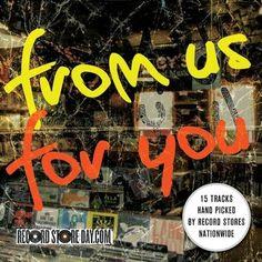 6x RECORD STORE DAY '08-11 v/a promo CDs | labels include: ASYLUM CAROLINE SOHL DX URBAN