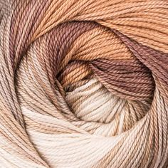 Katia Jaipur is a smooth mercerised 100% cotton yarn which self stripes in a fantastic range of bright colour combinations. This is a lace weight yarn and it knits up on 2.5mm needles for fabulously light garments and accessories. Machine washable.