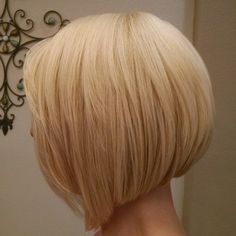 Blonding and Aline haircut created by chelsea at Jamie's Hair Design in Thousand Oaks ca.  805 496 4747
