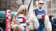 How to Pull Off the Logomania Trend Like a Street-Style Star - As we all know by now, fashion is cyclical—which means it's about time for the logomania obsession of yesteryear to make a comeback. On the spring 2016 runways, Gucci, Hood by Air, DKNY, and even restrained labels such as Loewe experimented with placing their brand name or logo on bags, belts, to...  #Logomania, #Streestyle, #Trend