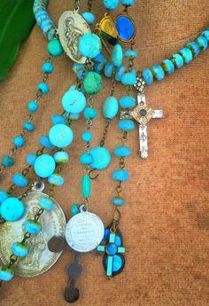 Saint Ives Crystal Cross Chocker | Saint Bohemian