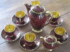Head to Trade Me, NZ's biggest & most popular auction & classifieds site, with thousands of new & used items in a wide range of categories. Tea Pot Set, Teapots And Cups, Tea Art, Tea Service, Chocolate Pots, Coffee Set, My Tea, Tea Accessories, Vintage Tea