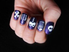 Chilled To The Bone | Top 10 DIY Halloween Nail Art Ideas