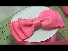 "Fun and Ease Tutorial for one Stunning Dior Ribbon Bow in the end. No hot glue used!  Make Ribbon Bow with just one piece Ribbon, a thread and needle, app. 20"" ribbon lenght,a scissors.    More info at http://daisyclubcrafts.com/how-to-make-ribbon-roses/  Ribon Rose, How to make, Tutorial    Please visit our store at:  http://daisyclub.etsy.com/          M..."