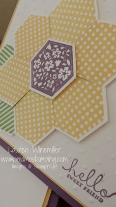Stampin' Up! Six Sided Sampler www.midmostamping.com