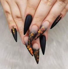 60 Ideas For Nails Design Fall Flowers