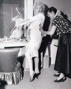 Marilyn: Marilyn Monroe with Marjorie Plecher