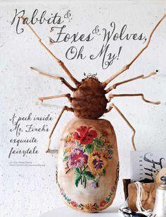 Mr. Finch, Sweet Paul & Beautiful Lettering -   It doesn't get any better! Mr Finch  Sweet Paul - Winter 2013 - Page 80-81
