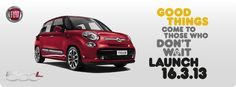 This Saturday sees the launch of the new Fiat 500L- the car that blends the classic style of the 500 with the practicality and functionality of a family-sized MPV. Feast your eyes on this, and pre-order yours before the weekend and you'll receive the 'Beats by Dr Dre' sound system upgrade for free. https://www.stoneacre.co.uk/make.html?make=fiat