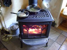 Whether you want to cook on the wood stove for fun or necessity, here are some great tips to create delicious meals by the fire. http://www.ourtinyhomestead.com/wood-stove-cooking.html