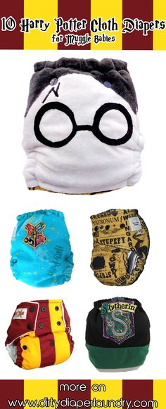 10 Harry Potter Cloth Diapers for Muggle Babies- Dirty Diaper Laundry