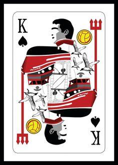 Eric Cantona - The King. Manchester United. #mufc @Traci Puk Janousek