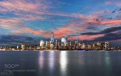 Manhattan from Liberty State Park by mmishalov