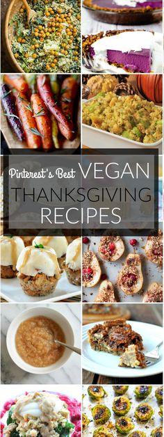 Pinterest's Best Vegan Thanksgiving Recipes