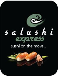 Salushi Express offers fresh, convenient and innovative sushi, spring rolls, soft drinks and a Winter Noodle Menu to patrons of the V Market On The Wharf.   Gary Mills from Salushi Express has travelled extensively around the world and leads a team of experienced sushi chefs.