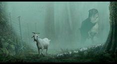 Ever have lamb chops before kid? Concept Art: Jurassic Park