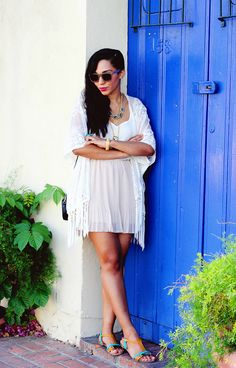 Get the 70's Vibe with a Summer Kimono - The Key ItemThe Key Item