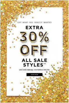 Glitter Sale