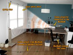 Hallowindow projector rig turns your home into a haunted house