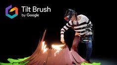 """Eine neue Dimension der Realität! Mit Google """"Tilt Brush"""" malst du Dir deine Visionen in 3D!"""