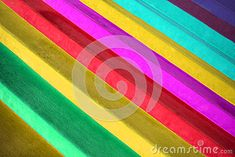 A background of strips of different colors.