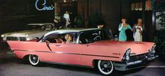 1957 Lincoln Premier (In pink!)