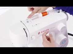 In this video, Kelly shows you how to thread your SINGER SIMPLE 3337 sewing machine. Company Work, Sewing Stitches, Craft Tutorials, Sewing Hacks, Diy Fashion, Threading, Youtube, Crafting, Ideas