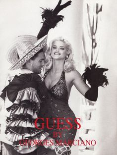 All the Guess Jeans ads of Anna Nicole Smith in Interview Magazine Guess Models, 90s Models, Role Models, Anna Nicole Smith, Marilyn Monroe, Guess Campaigns, Ad Campaigns, Guess Ads, Pictures Of Anna