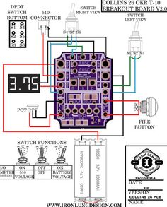 OKR T-10 Breakout Board - Assembled – Iron Lung Design