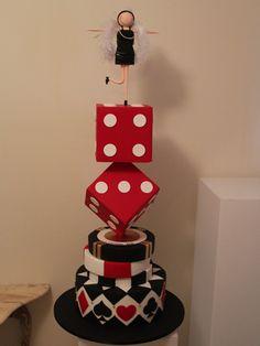 Ideas In Icing:The Wedding Cake Specialist Sunshine Coast Baby Cakes, Sweet Cakes, Cupcake Cakes, Cupcakes, Casino Party, Casino Theme, Beautiful Cakes, Amazing Cakes, Aniversary Cakes